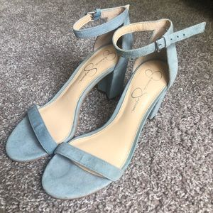 Jessica Simpson Monrae Light Blue Sandals!